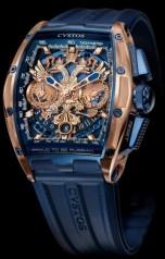 Cvstos » Chronograph » Challenge Chrono Depardieu LE 'Proud to be Russian' » Challenge Chrono 'Proud to be Russian' RG Blue