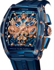Cvstos » Chronograph » Challenge Chrono Depardieu LE 'Proud to be Russian' » Challenge Chrono 'Proud to be Russian' Blue