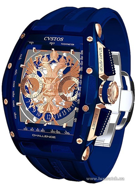Cvstos » Chronograph » Challenge Eagle of Russia » Challenge Eagle of Russia Blue Edition