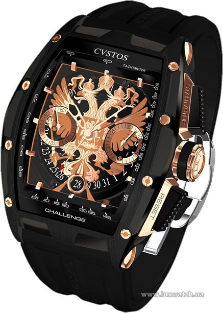 Cvstos » Chronograph » Challenge Eagle of Russia » CII-RE