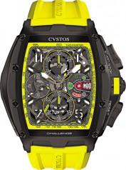 Cvstos » Chronograph » Challenge III Chronographe » Challenge III Chrono Black Steel Yellow