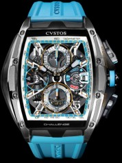 Cvstos » Chronograph » Challenge III Chronographe » Challenge III Chrono Grey Brancard Black Titanium 02