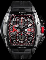 Cvstos » Chronograph » Challenge III Chronographe » Challenge III Chrono Grey Brancard Black Titanium 01