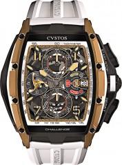 Cvstos » Chronograph » Challenge III Chronographe » Challenge III Chrono RG Brancard Black Titanium 01