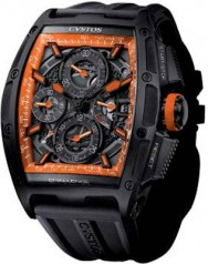 Cvstos » Chronograph » Chrono II Color Storm » Orange Storm