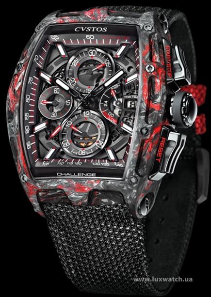 Cvstos » Chronograph » Chrono II » Challenge Chrono II Honolulu Black Red