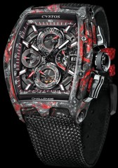 Cvstos » Chronograph » Chrono II » Challenge Chrono II Honolulu Black Red