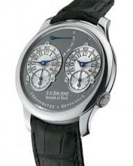 F.P. Journe » _Archive » Chronometre a Resonance Limited Series » Chronometre a Resonance Pt-BlCroco