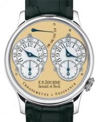 F.P. Journe » _Archive » Collection Pieces Chronometre a Resonance » Pt-BlCroco