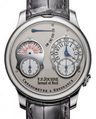 F.P. Journe » _Archive » Souveraine Chronometre a Resonance 2010 » Chronometre a Resonance 2010 Platinum