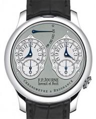 F.P. Journe » _Archive » Souveraine Chronometre a Resonance » Chronometre a Resonance Pt-BlCroco