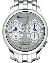 F.P. Journe » _Archive » Souveraine Chronometre a Resonance » Chronometre a Resonance Pt-Pt