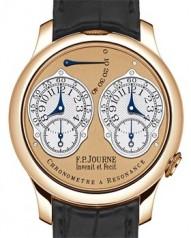 F.P. Journe » _Archive » Souveraine Chronometre a Resonance » Chronometre a Resonance RG-BlCroco