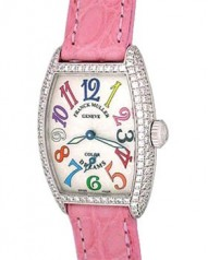 Franck Muller » _Archive » Cintree Curvex Colour Dreams Tonneau Diamonds » 1750 S6 D