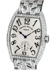 Franck Muller » _Archive » Cintree Curvex Diamonds » 7500 S6 D B