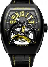Franck Muller » Cintree Curvex » Gravity Skeleton » V 45 T GRAVITY NR Jaune