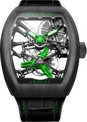 Franck Muller » Cintree Curvex » Gravity Skeleton » V45 T GRAVITY SQT G