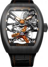 Franck Muller » Cintree Curvex » Gravity Skeleton » V45 T GRAVITY SQT O