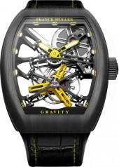 Franck Muller » Cintree Curvex » Gravity Skeleton » V45 T GRAVITY SQT Y