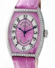 Franck Muller » Cintree Curvex » Chronometro » 5850 SC CHR MET D Pink