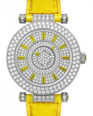 Franck Muller » Double Mystery » Ronde » 42 DM D2R CD Yellow