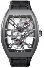 Franck Muller » Gravity » V 45 T GR CS SQT » V-45-T-Gravity-CS-SQT-TT-BR-NR