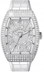 Franck Muller » Vanguard Lady » V 35 SC AT » V-35-SC-AT-FO-AC-D-CD-OG-BC