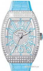 Franck Muller » Vanguard Lady » V 35 SC AT » V-35-SC-AT-FO-AC-D-CD-OG-BL