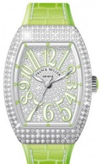 Franck Muller » Vanguard Lady » V 35 SC AT » V-35-SC-AT-FO-AC-D-CD-OG-VE