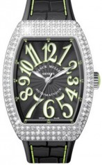 Franck Muller » Vanguard Lady » V 35 SC AT » V-35-SC-AT-FO-AC-D-OG-VE-NR