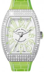 Franck Muller » Vanguard Lady » V 35 SC AT » V-35-SC-AT-FO-D-AC-VE-BLC