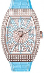 Franck Muller » Vanguard Lady » V 35 SC AT » V-35-SC-AT-FO-D-CD-5N-BL
