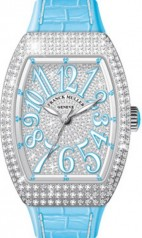 Franck Muller » Vanguard Lady » V 35 SC AT » V-35-SC-AT-FO-D-CD-AC-BL-BLC