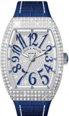 Franck Muller » Vanguard Lady » V 35 SC AT » V-35-SC-AT-FO-D-CD-AC-BU