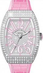 Franck Muller » Vanguard Lady » V 35 SC AT » V-35-SC-AT-FO-D-CD-AC-RS-BLC