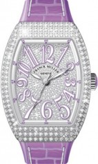 Franck Muller » Vanguard Lady » V 35 SC AT » V-35-SC-AT-FO-D-CD-AC-VL-BLC