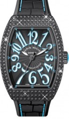 Franck Muller » Vanguard Lady » V 35 SC AT » V-35-SC-AT-FO-D-CD-ACNR-BL-NR