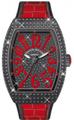 Franck Muller » Vanguard Lady » V 35 SC AT » V-35-SC-AT-FO-D-CD-ACNR-RG
