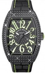 Franck Muller » Vanguard Lady » V 35 SC AT » V-35-SC-AT-FO-D-CD-ACNR-VE