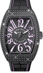 Franck Muller » Vanguard Lady » V 35 SC AT » V-35-SC-AT-FO-D-CD-ACNR-VL-NR