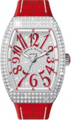 Franck Muller » Vanguard Lady » V 35 SC AT » V-35-SC-AT-FO-D-CD-OG-RG