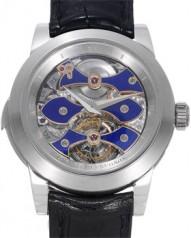 Girard-Perregaux » _Archive » Haute Horlogerie Opera One - Tourbillon Westminster Minute Repeater » 99750 Pt Silver&BlueDial
