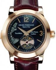 Girard-Perregaux » _Archive » Haute Horlogerie Opera One - Tourbillon Westminster Minute Repeater » 99750 RG BlackDial