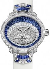 Girard-Perregaux » Cat`s Eye » Haute Joaillerie » Cat's Eye Haute Joaillerie WG Blue 01