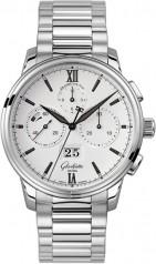Glashutte Original » Quintessentials » Senator Chronograph Panorama Date » 1-37-01-05-02-70