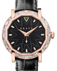 Graff » _Archive » Dress Graffstar 43 mm » Graffstar 43 mm RG Diamond Black Dial