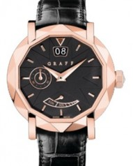 Graff » _Archive » Dress Graffstar Grand Date 45 mm » Grand Date 45 mm RG Black Dial