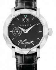 Graff » _Archive » Dress Graffstar Grand Date 45 mm » Grand Date 45 mm WG Black Dial