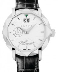Graff » _Archive » Dress Graffstar Grand Date 45 mm » Grand Date 45 mm WG White Dial