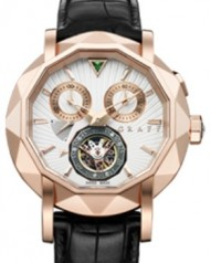 Graff » Technical » Mastergraff Chrono Tourbillon » Mastergraff Chrono Tourbillon RG White Dial